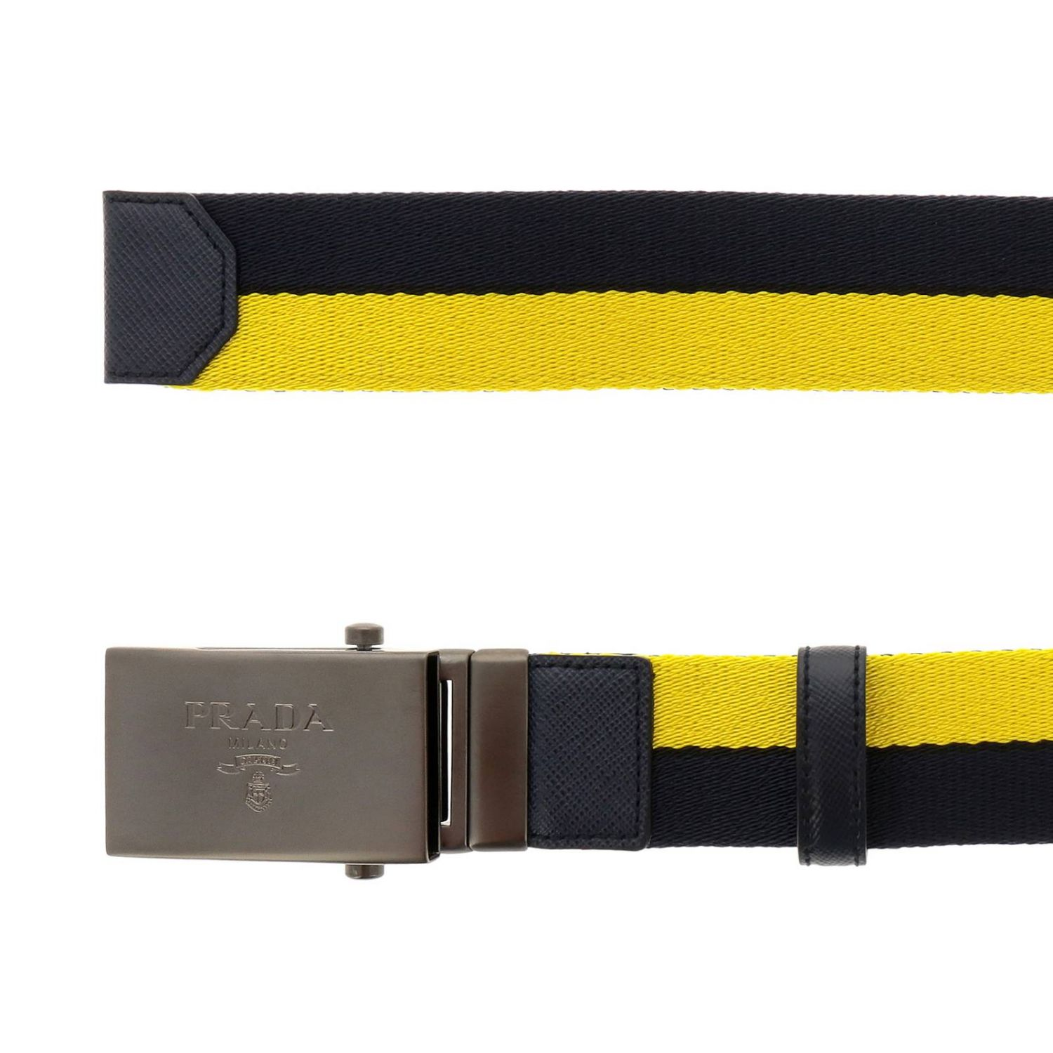 Belt Prada: Belt men Prada blue 2