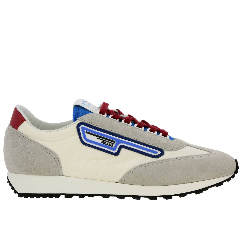 Shoes men Prada white 1