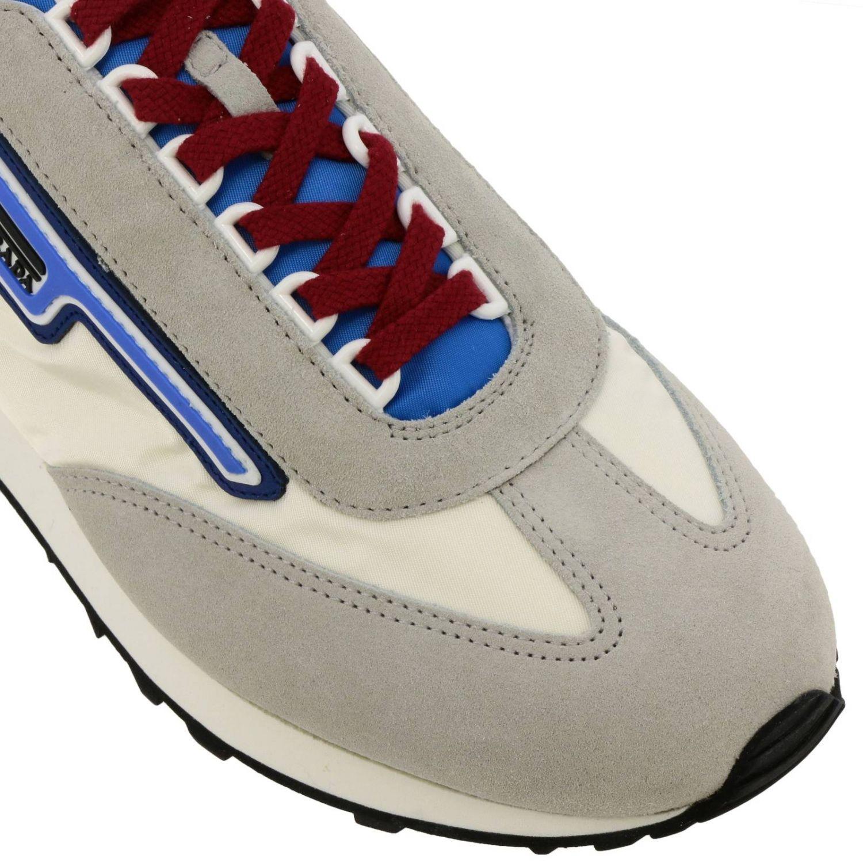 Shoes men Prada white 3
