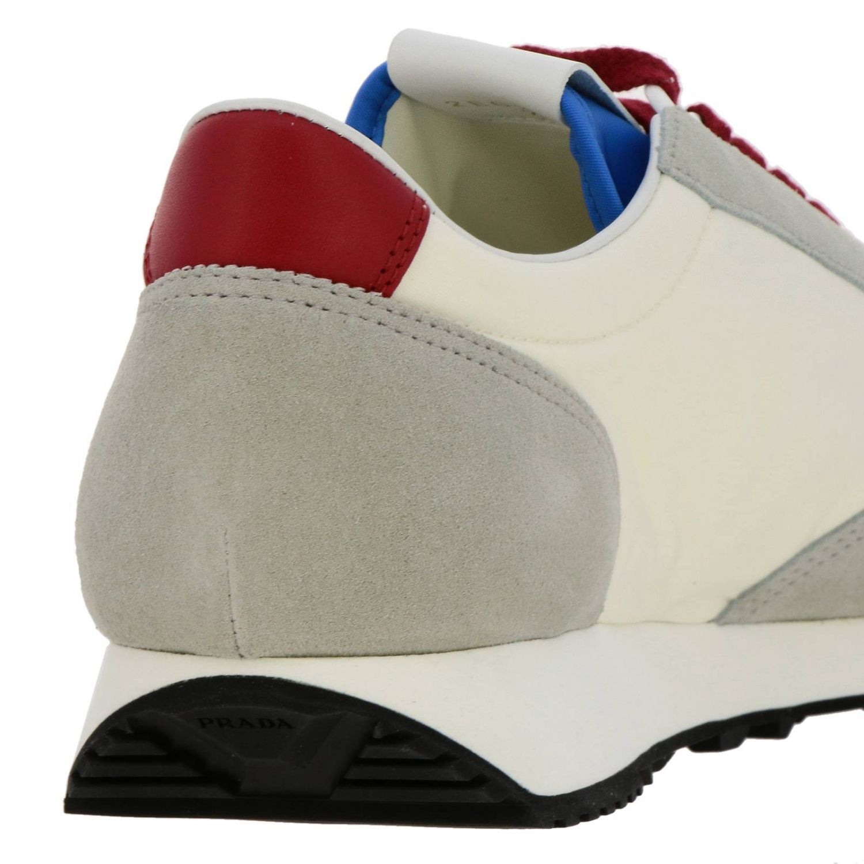 Shoes men Prada white 4