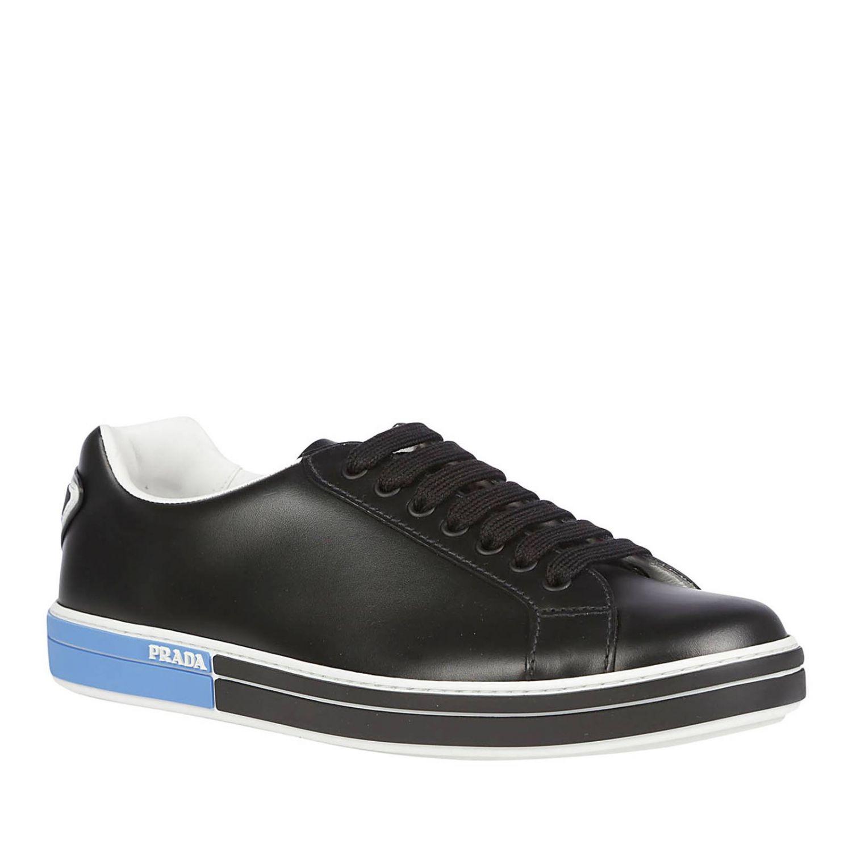 Sneakers Prada: Shoes men Prada black 2