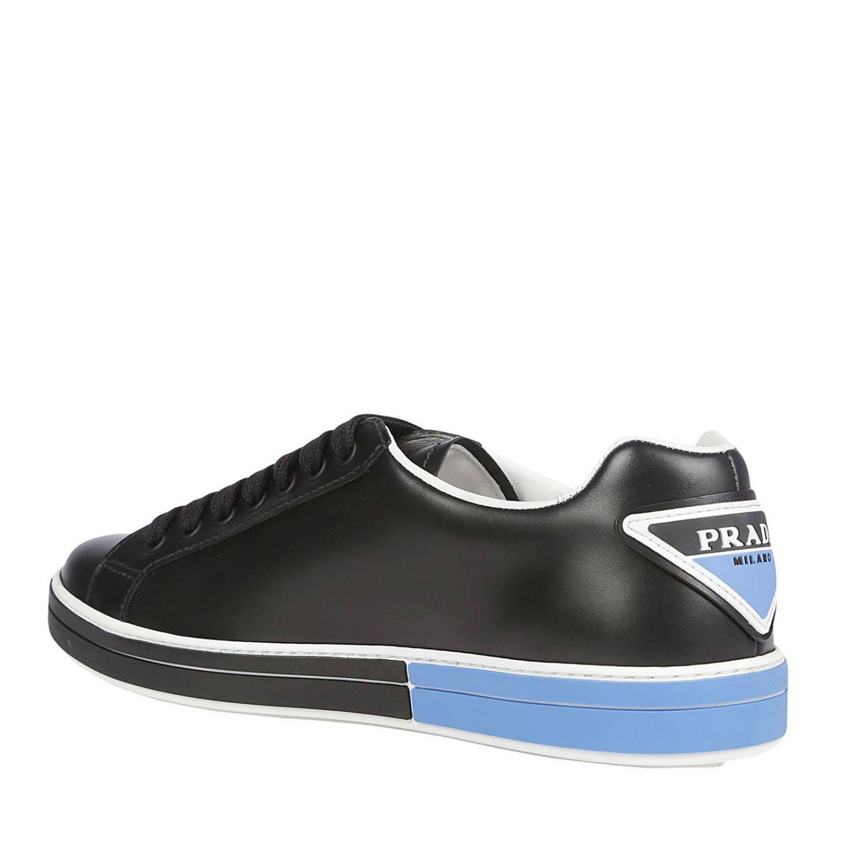 Sneakers Prada: Shoes men Prada black 3