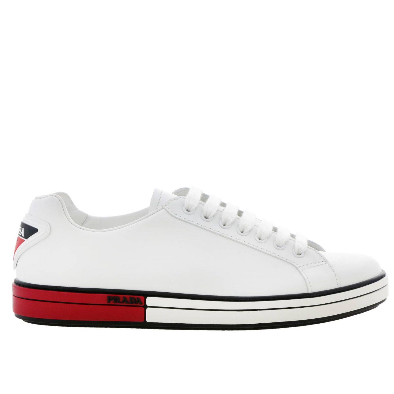Shoes men Prada red 1