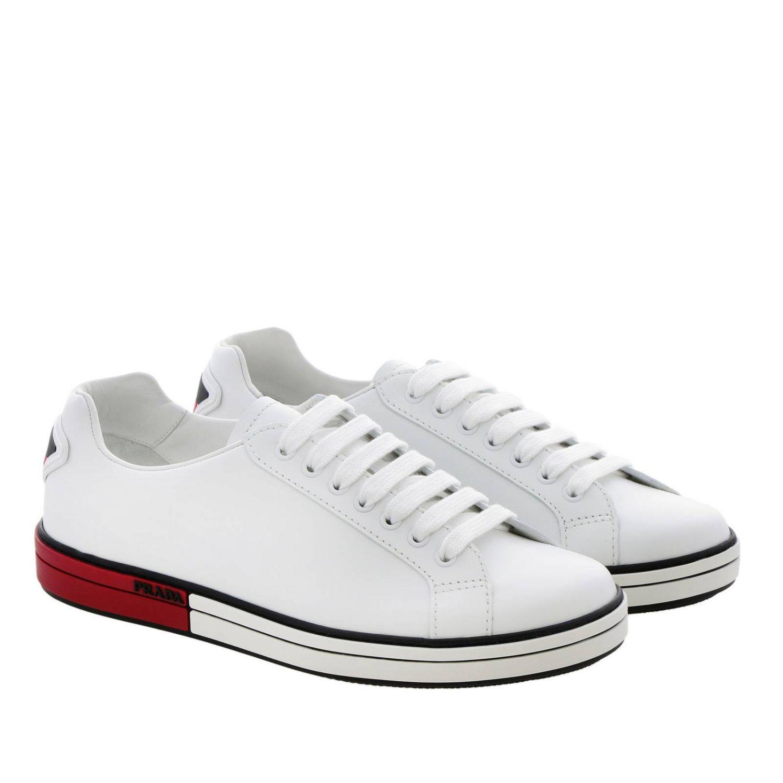Shoes men Prada red 2