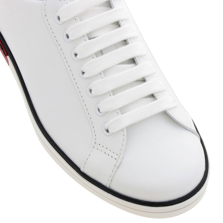 Shoes men Prada red 3