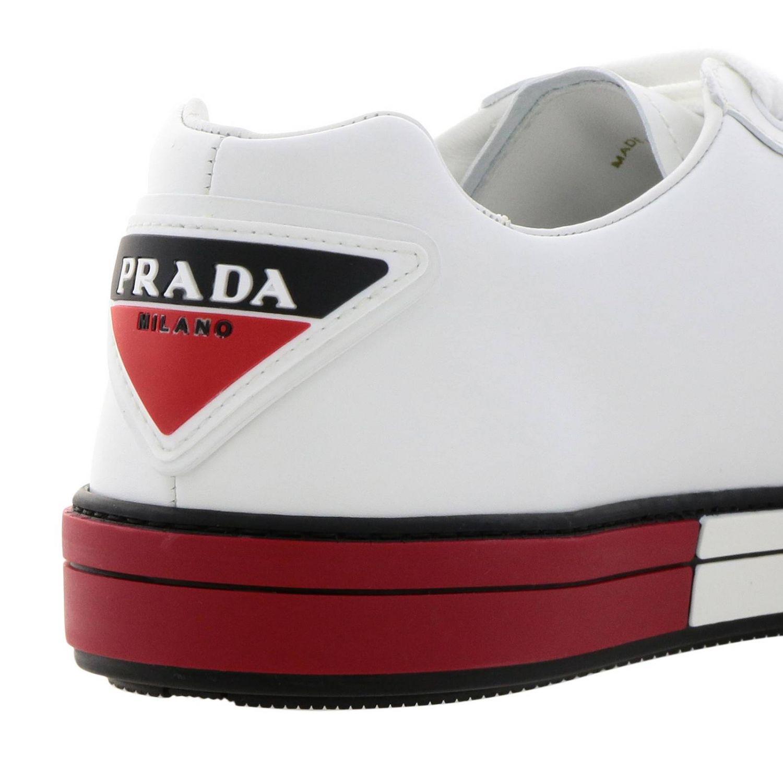 Shoes men Prada red 4
