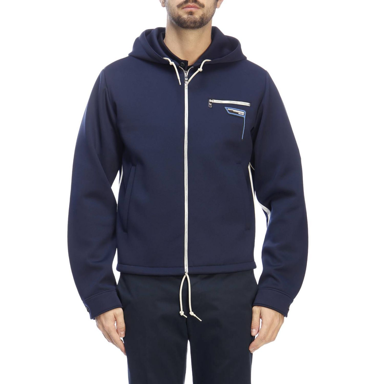Jacket men Prada blue 1