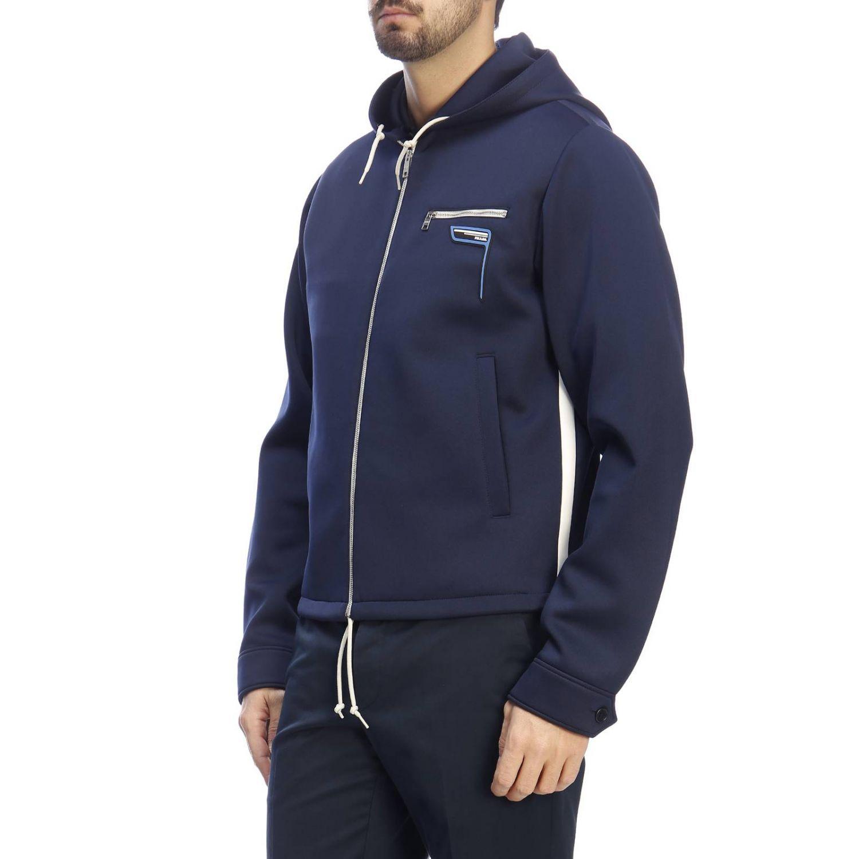 Jacket men Prada blue 2