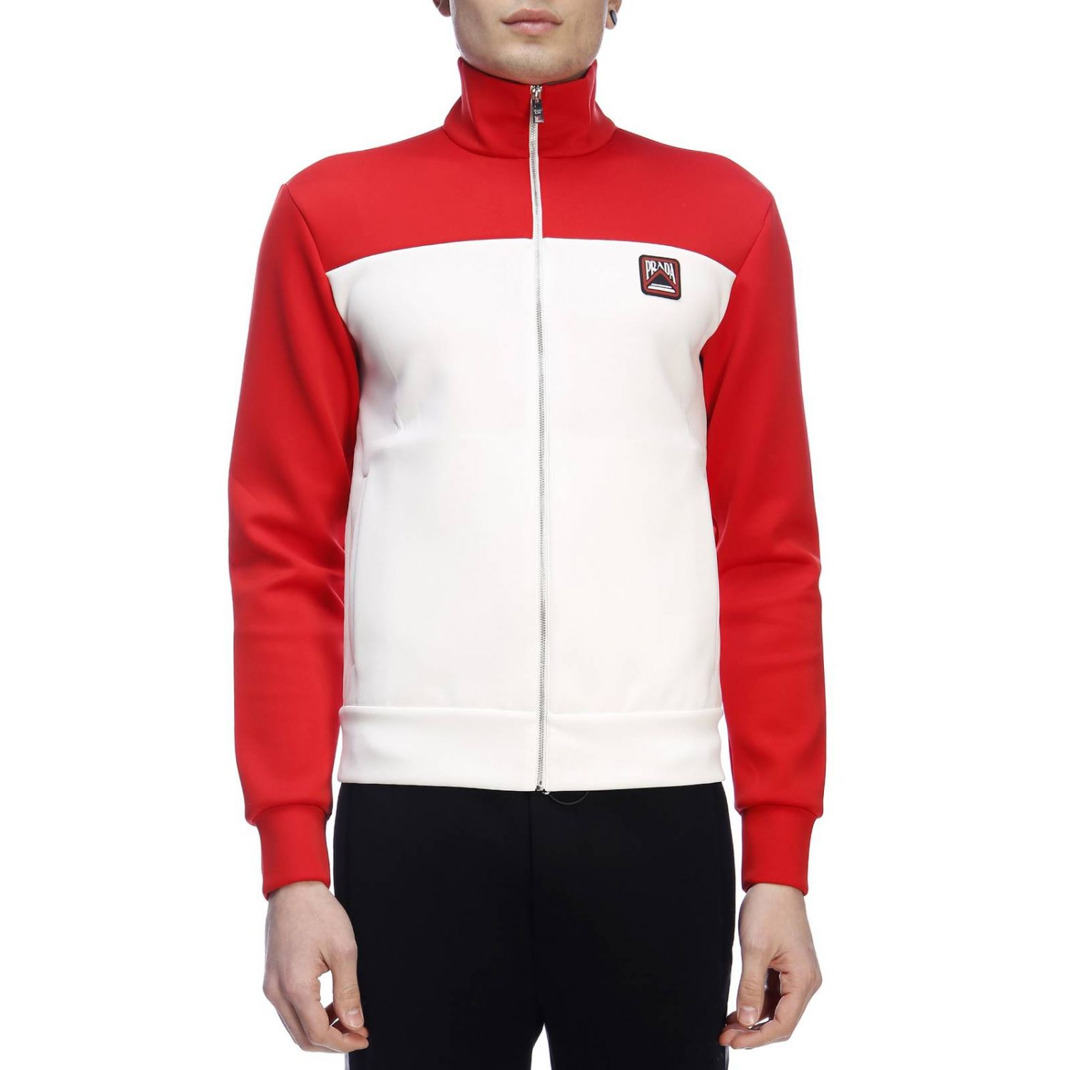 Jumper men Prada red 1