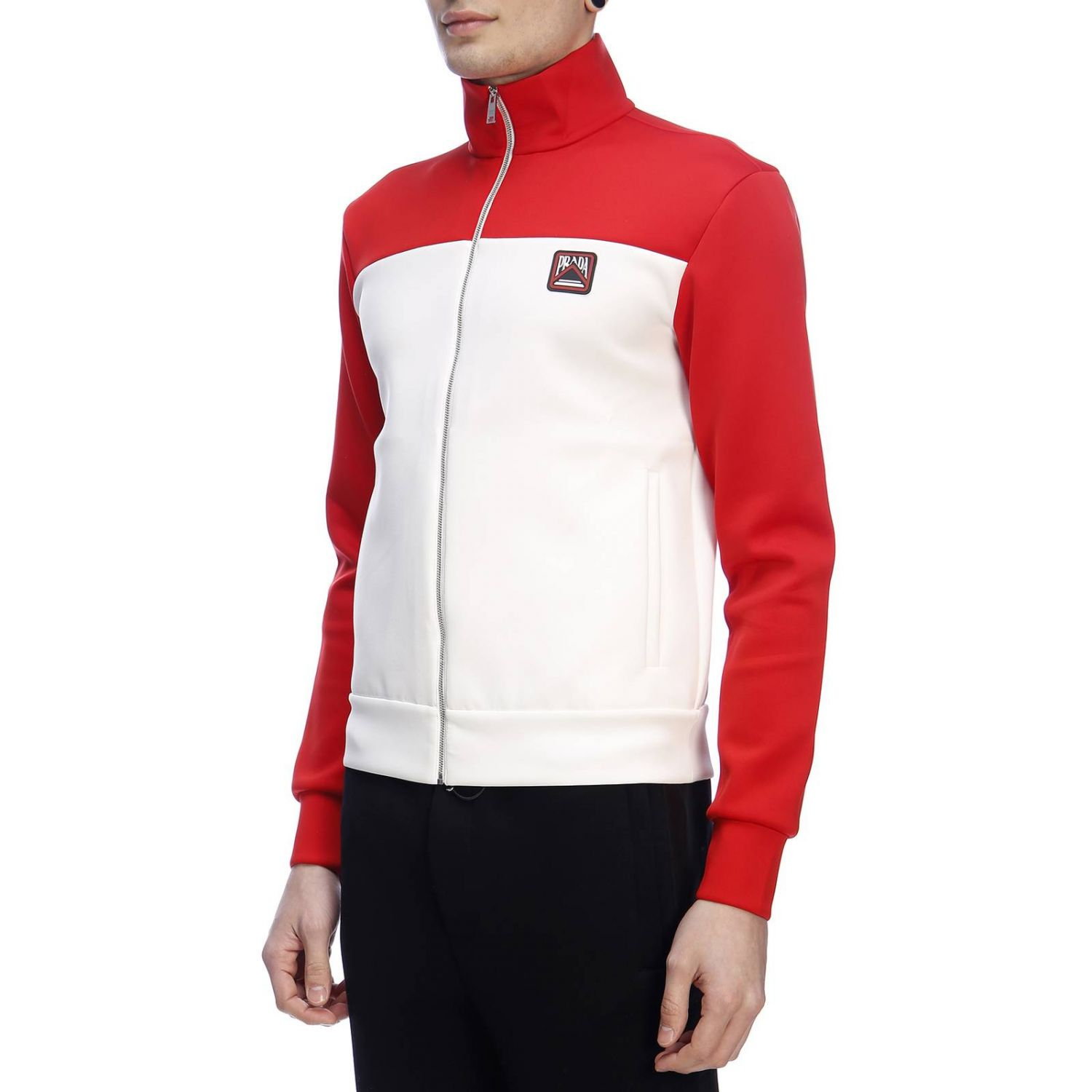Jumper men Prada red 2