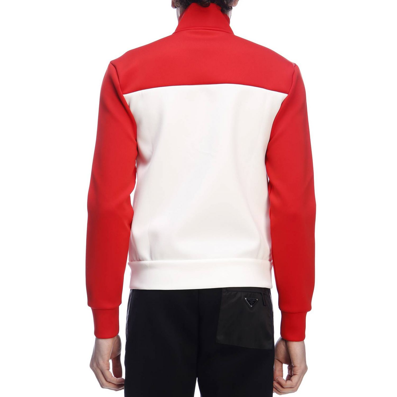 Jumper men Prada red 3