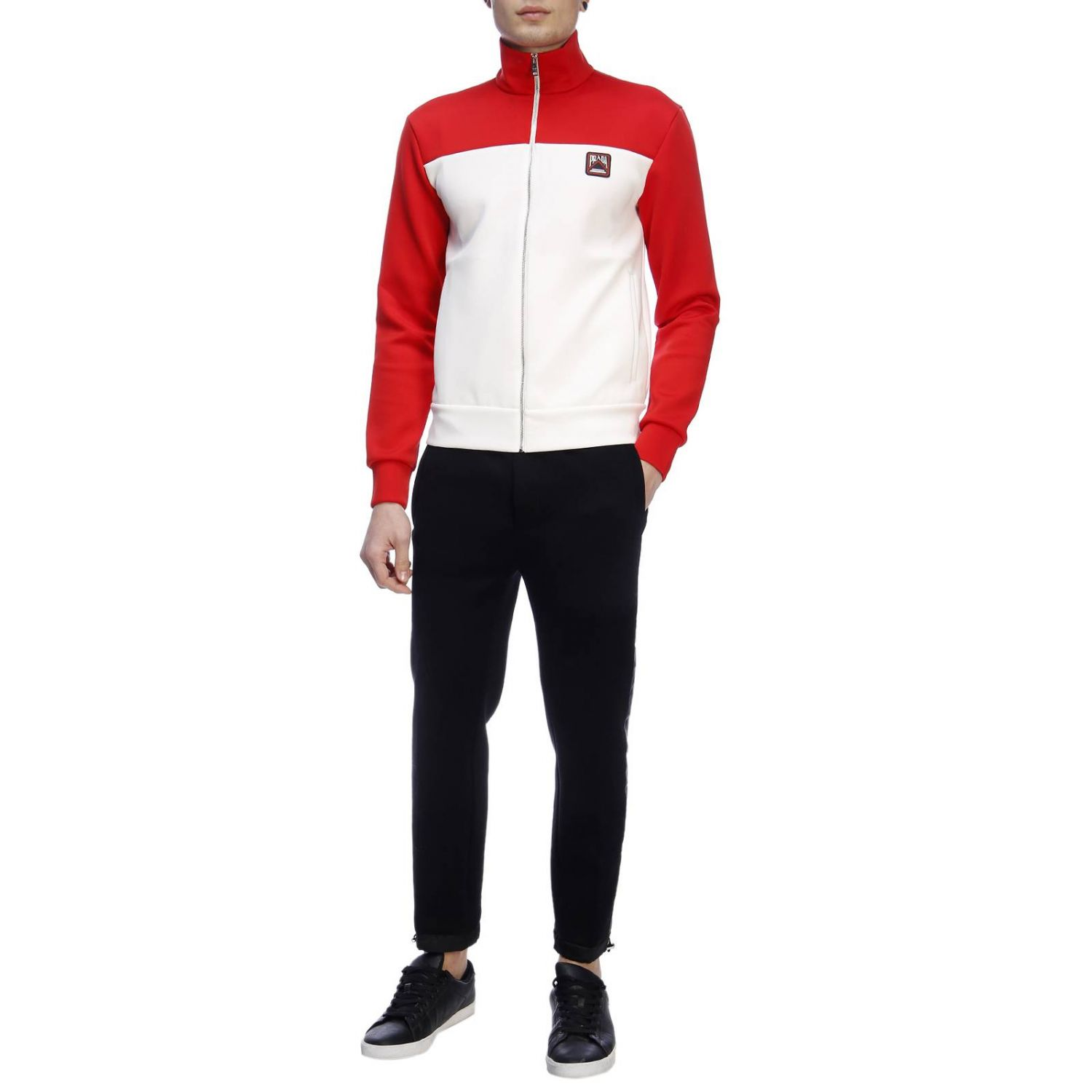 Jumper men Prada red 4