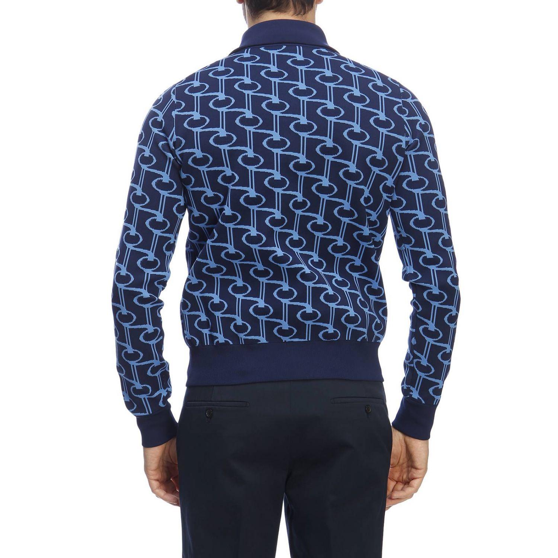 Pullover herren Prada hellblau 3