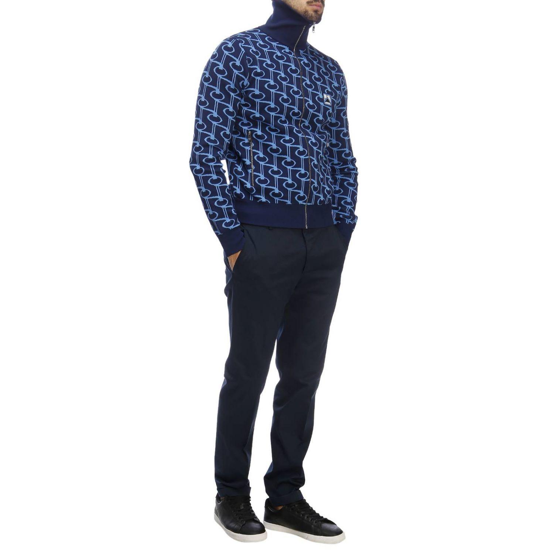 Pullover herren Prada hellblau 4
