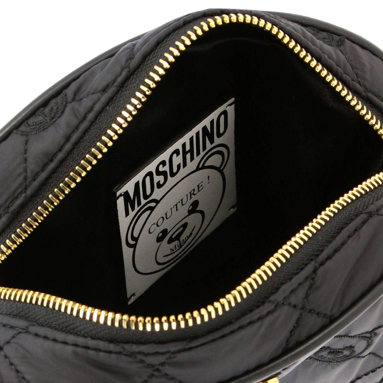 Shoulder bag women Moschino Couture black 5