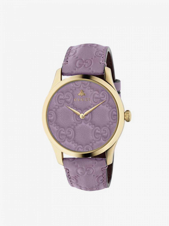 Watch Gucci: Watch women Gucci lilac 1