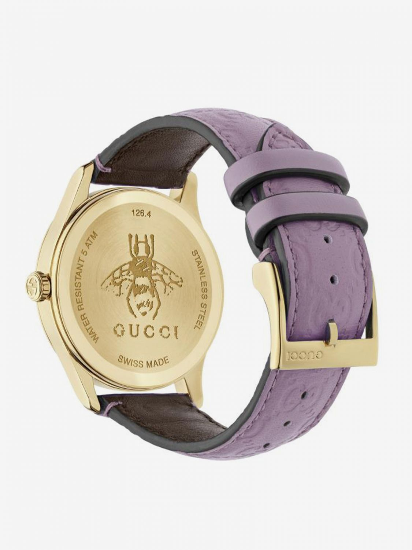 Watch Gucci: Watch women Gucci lilac 2