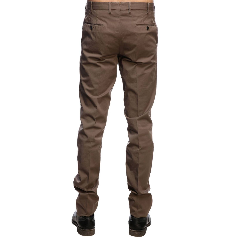 Pantalone Graven fit super slim comfort stretch in cotone tortora 3