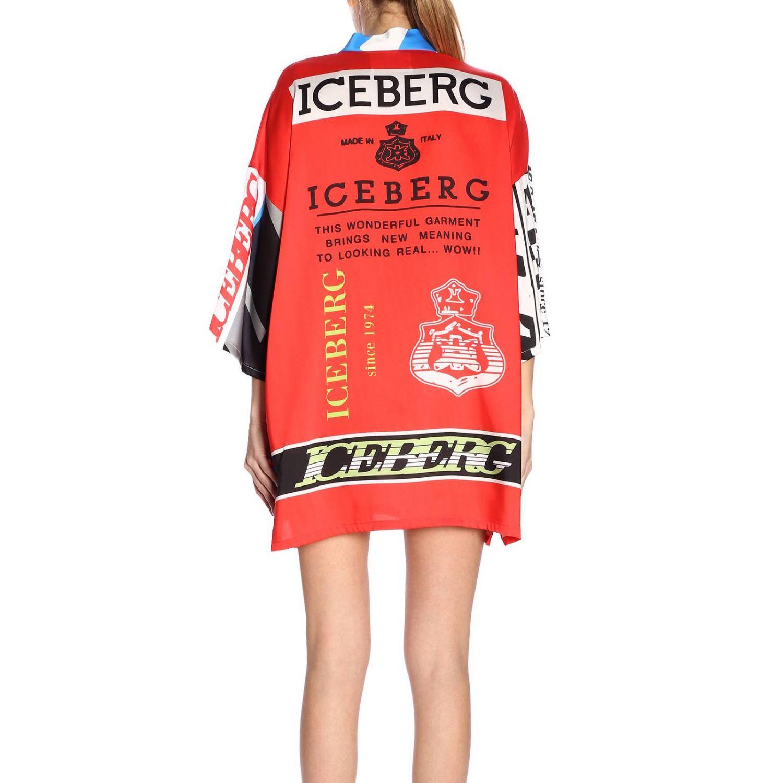 Dress women Iceberg red 3