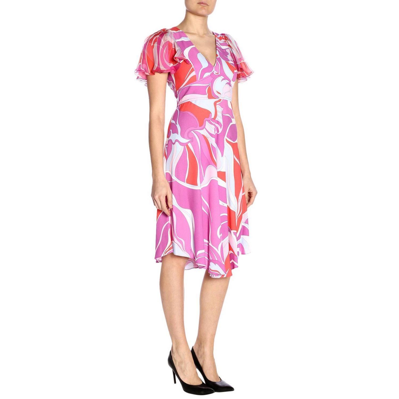 Dress women Emilio Pucci fuchsia 2