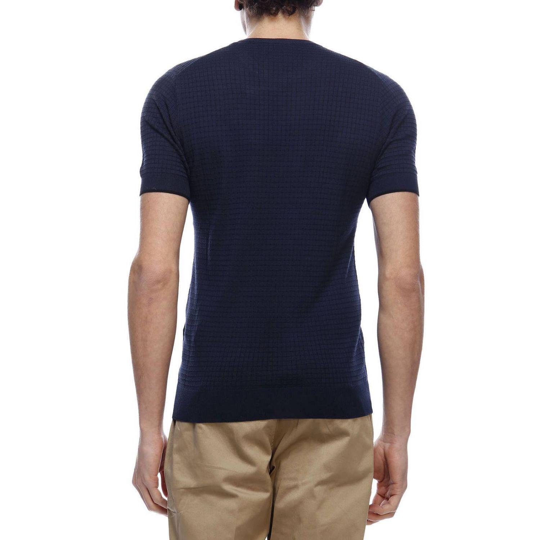Jersey hombre Paolo Pecora azul oscuro 3