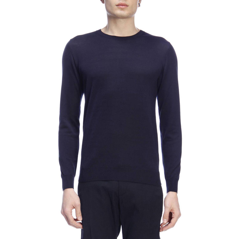 Pullover herren Paolo Pecora blau 1