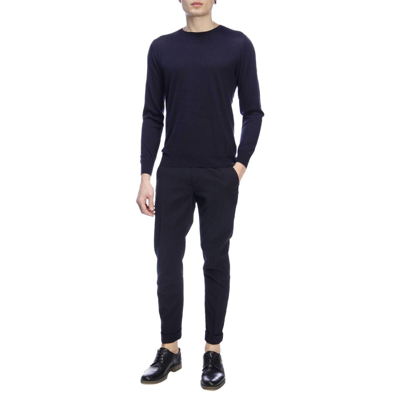 Pullover herren Paolo Pecora blau 4