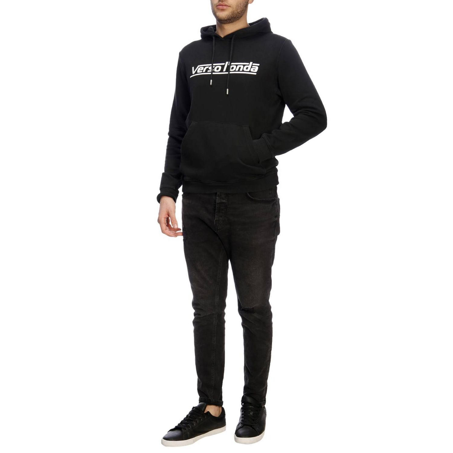 Pull homme Paolo Pecora noir 5