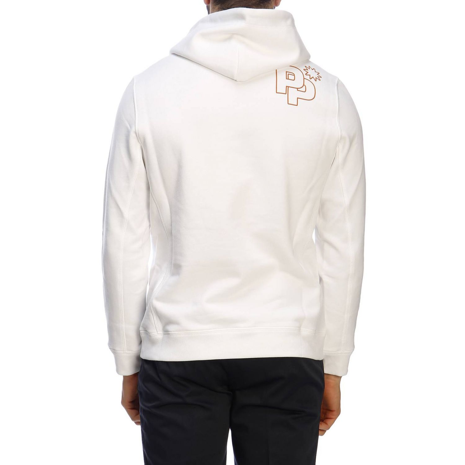 Pull Paolo Pecora: Pull homme Paolo Pecora blanc 3