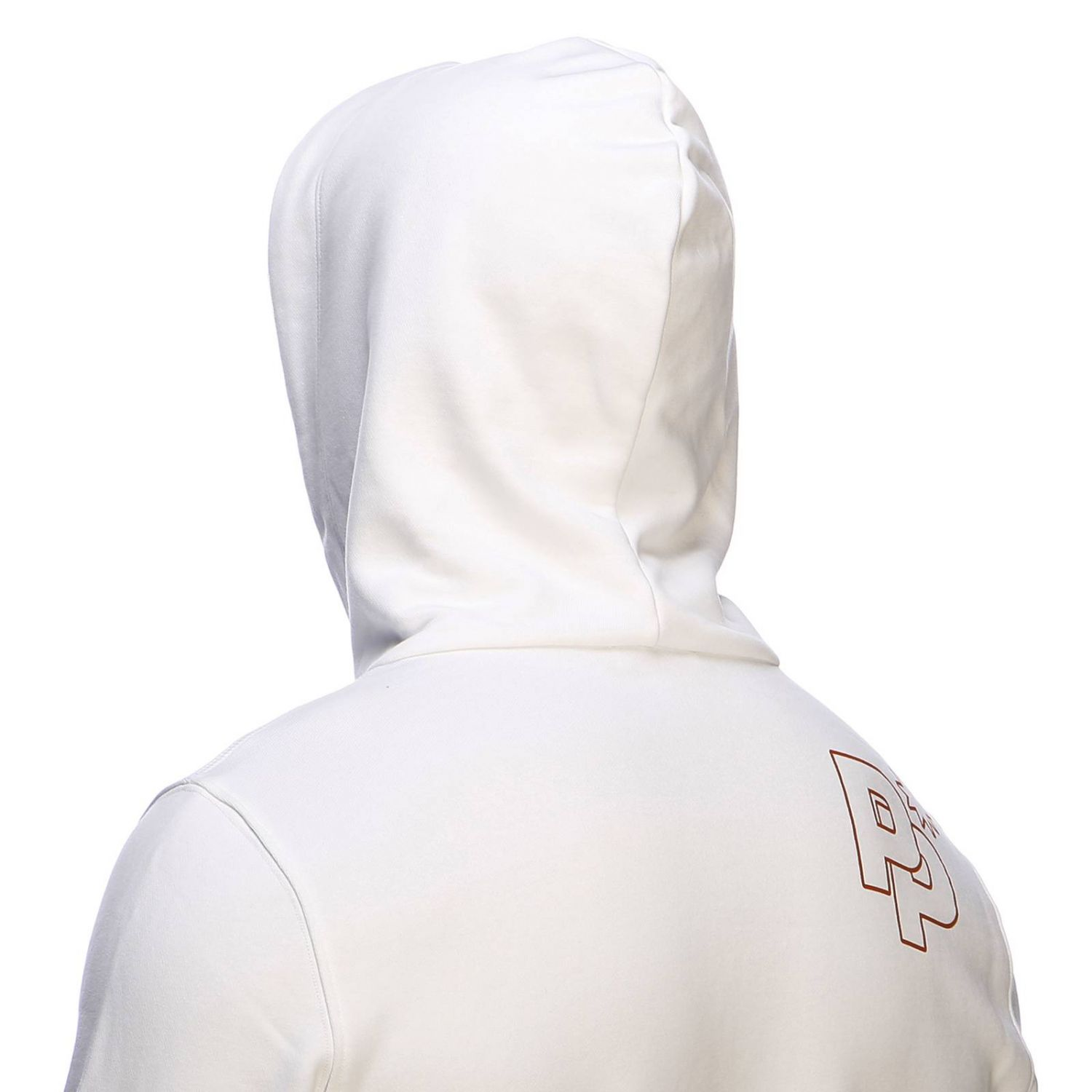 Sweater men Paolo Pecora white 4