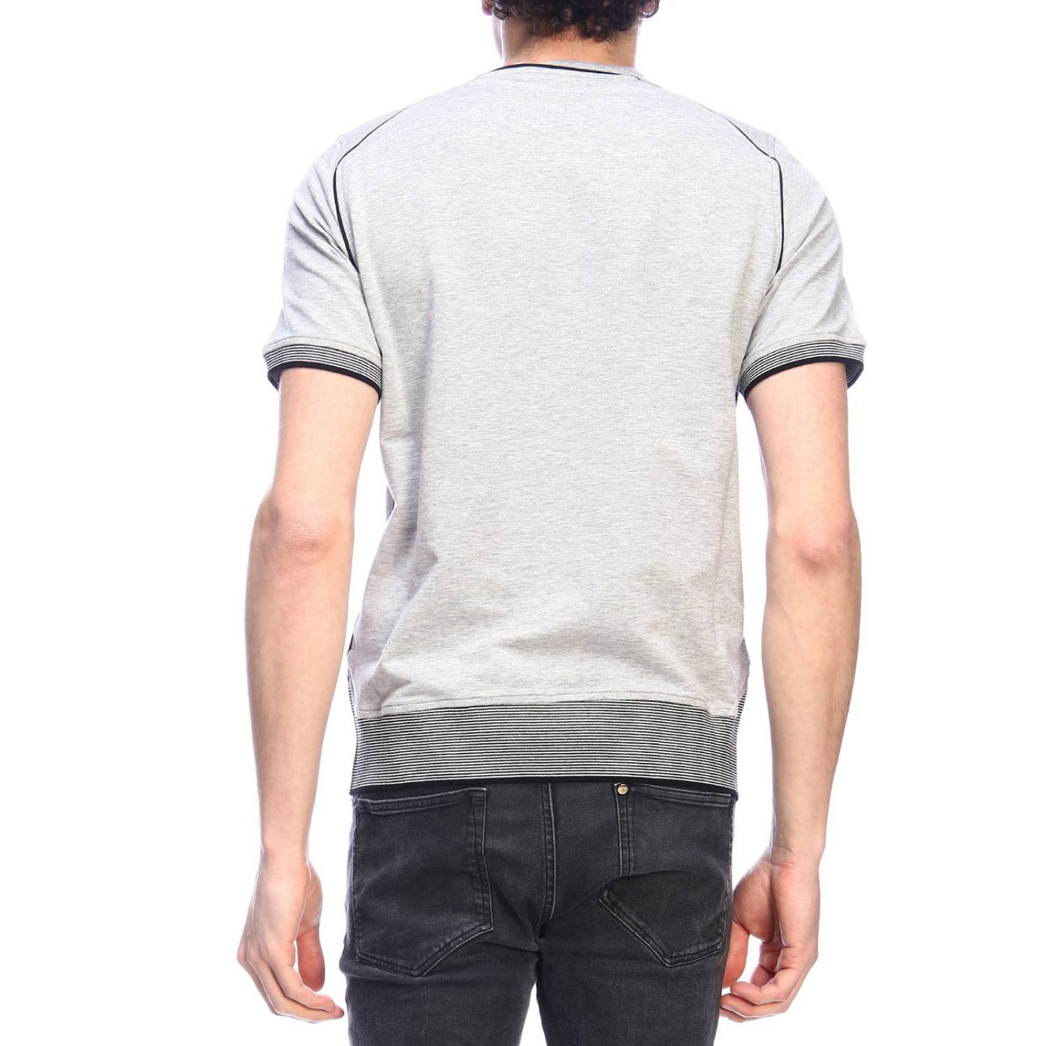 Pull homme Paolo Pecora gris 3