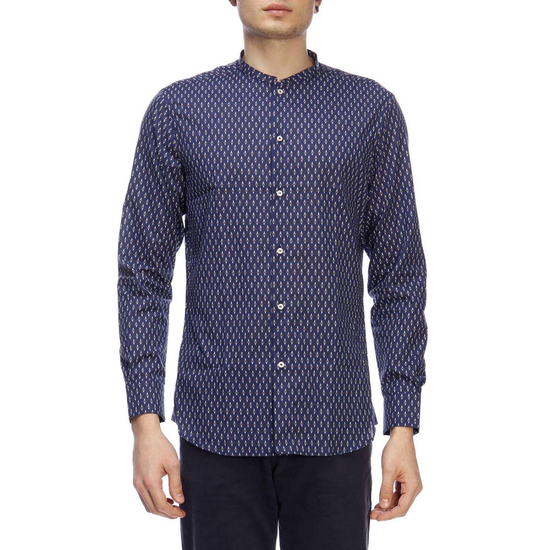 Рубашка Мужское Paolo Pecora синий 1