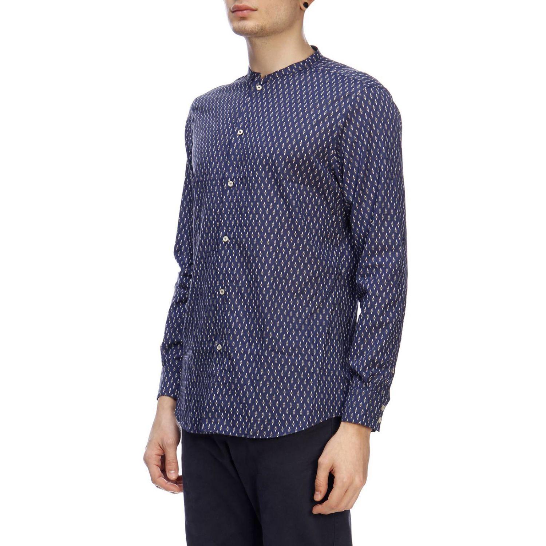 Рубашка Мужское Paolo Pecora синий 2
