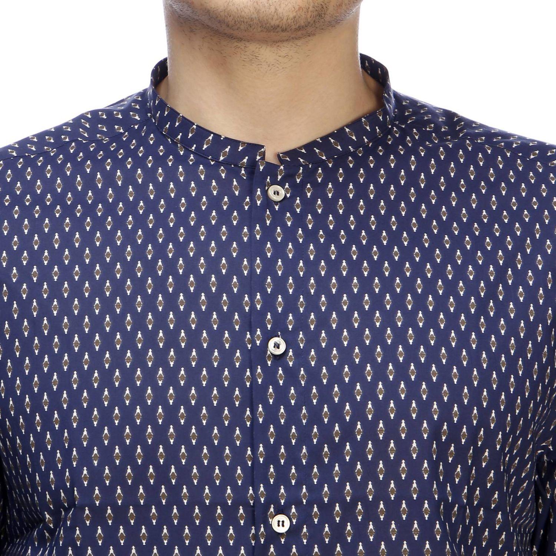 Рубашка Мужское Paolo Pecora синий 4