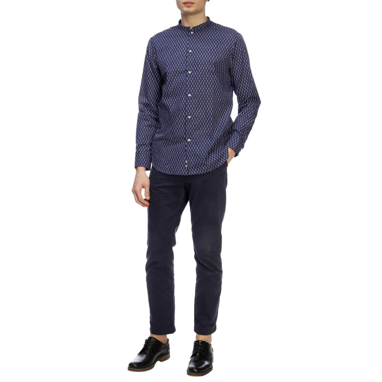 Рубашка Мужское Paolo Pecora синий 5
