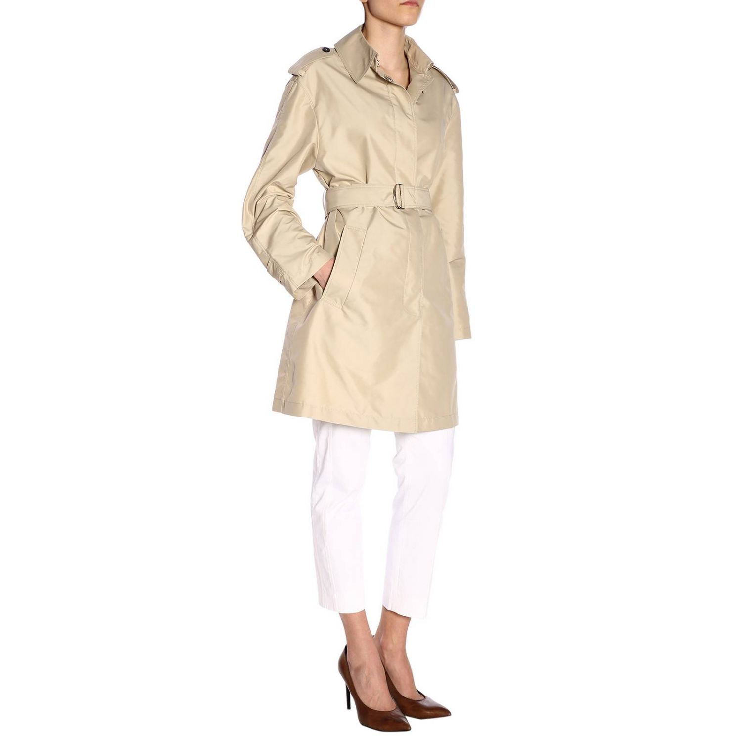 Coat women Fay beige 4