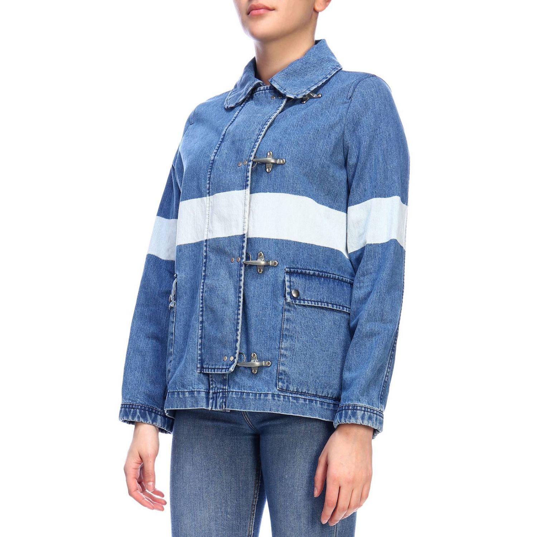Jacket women Fay denim 2