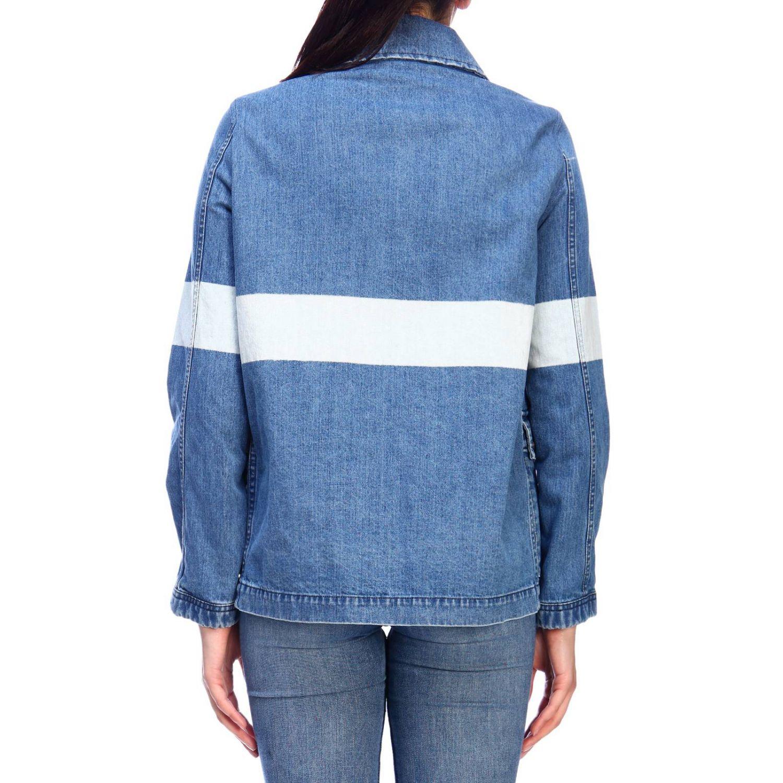 Jacket women Fay denim 3