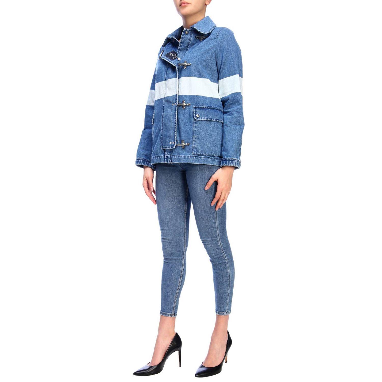 Jacket women Fay denim 4