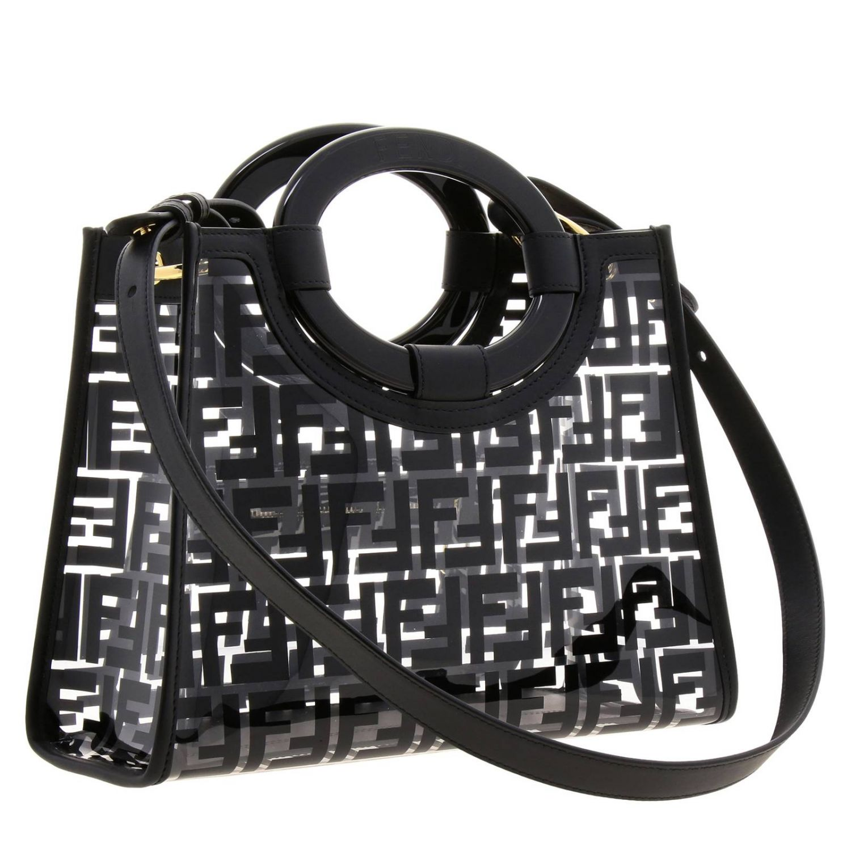 Handbag Fendi: Shoulder bag women Fendi black 3