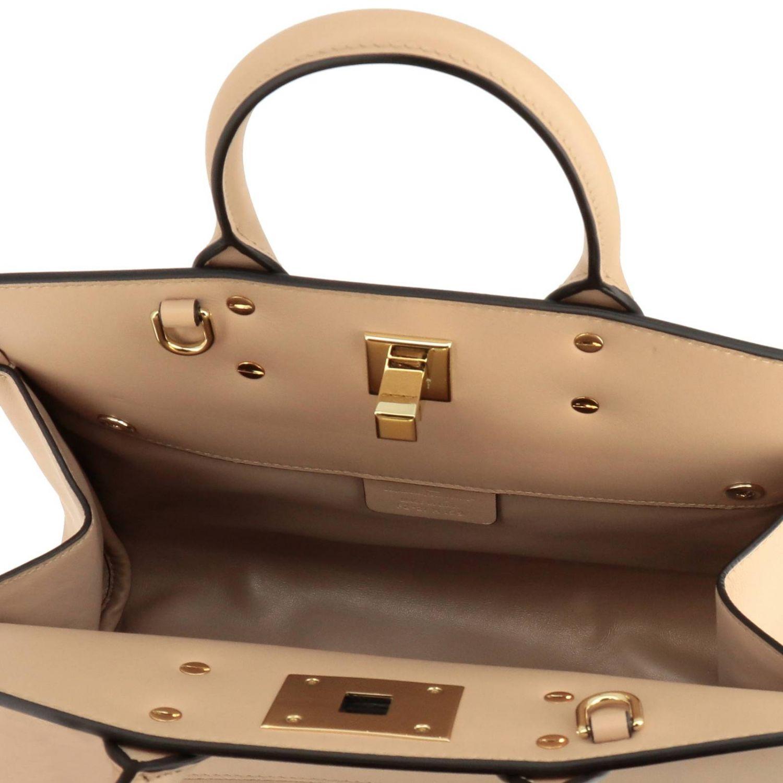 Shoulder bag women Salvatore Ferragamo beige 6