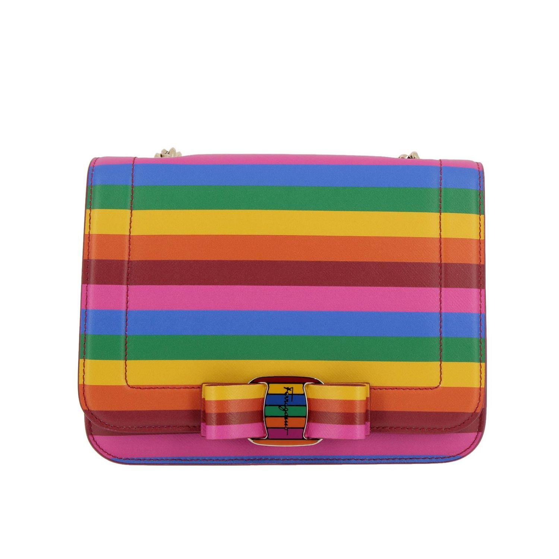Shoulder bag women Salvatore Ferragamo multicolor 1