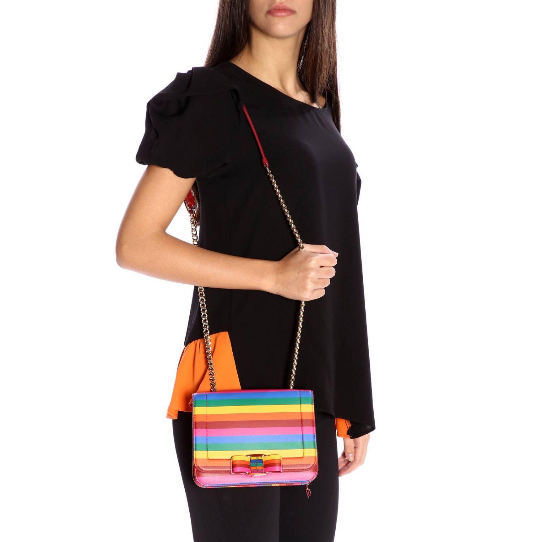 Shoulder bag women Salvatore Ferragamo multicolor 2