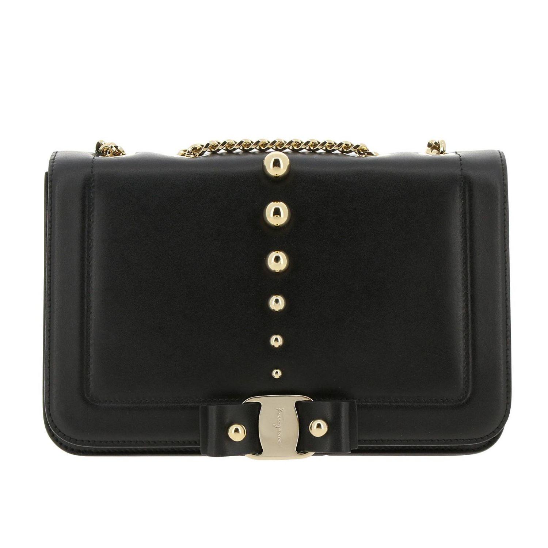 Shoulder bag women Salvatore Ferragamo black 1