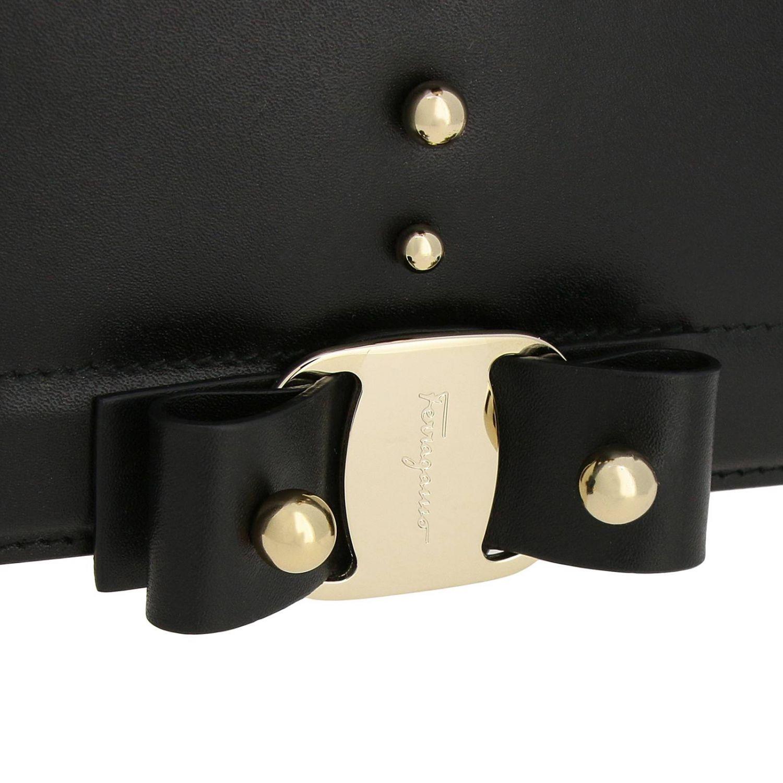 Shoulder bag women Salvatore Ferragamo black 4