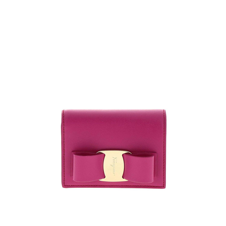 Wallet women Salvatore Ferragamo fuchsia 1