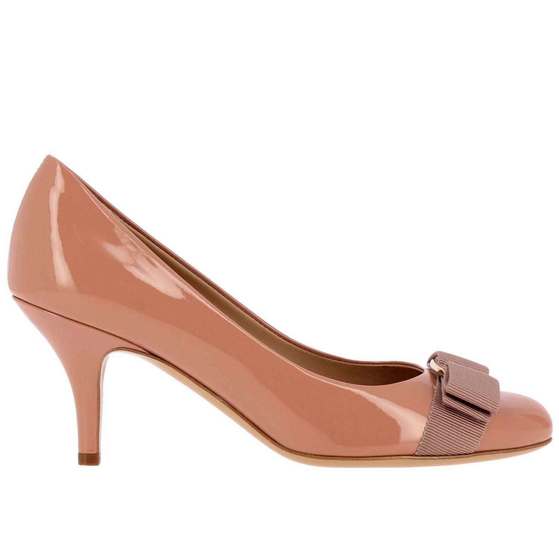 Shoes women Salvatore Ferragamo nude 1