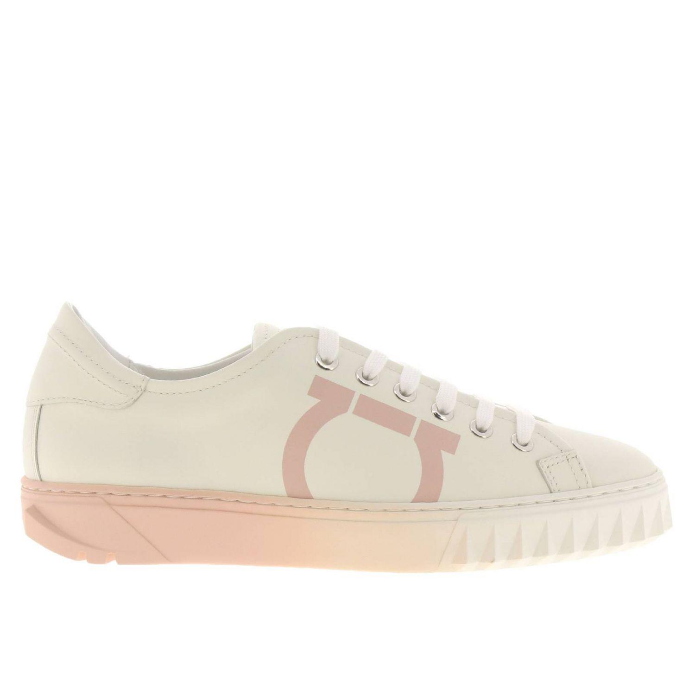 Обувь Женское Salvatore Ferragamo белый 1