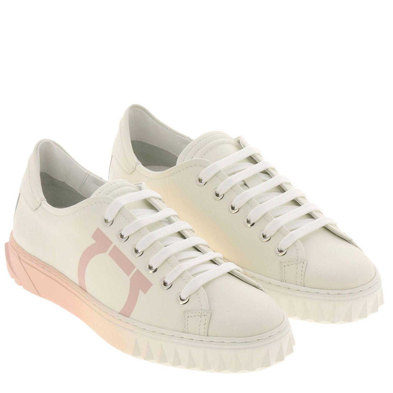 Обувь Женское Salvatore Ferragamo белый 2