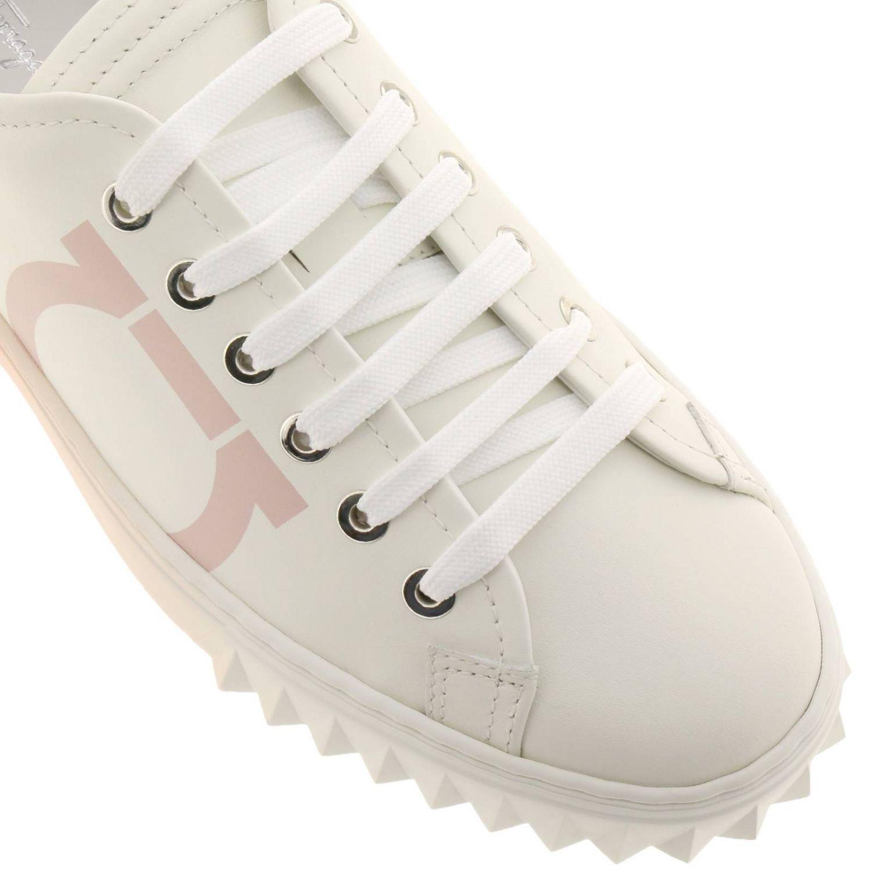 Обувь Женское Salvatore Ferragamo белый 3
